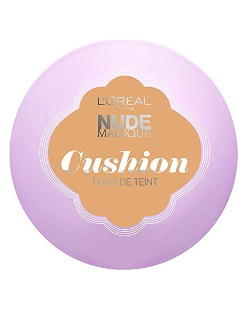 Loreal Nude Magique Cushion Foundation 07 Golden Beige 14 g