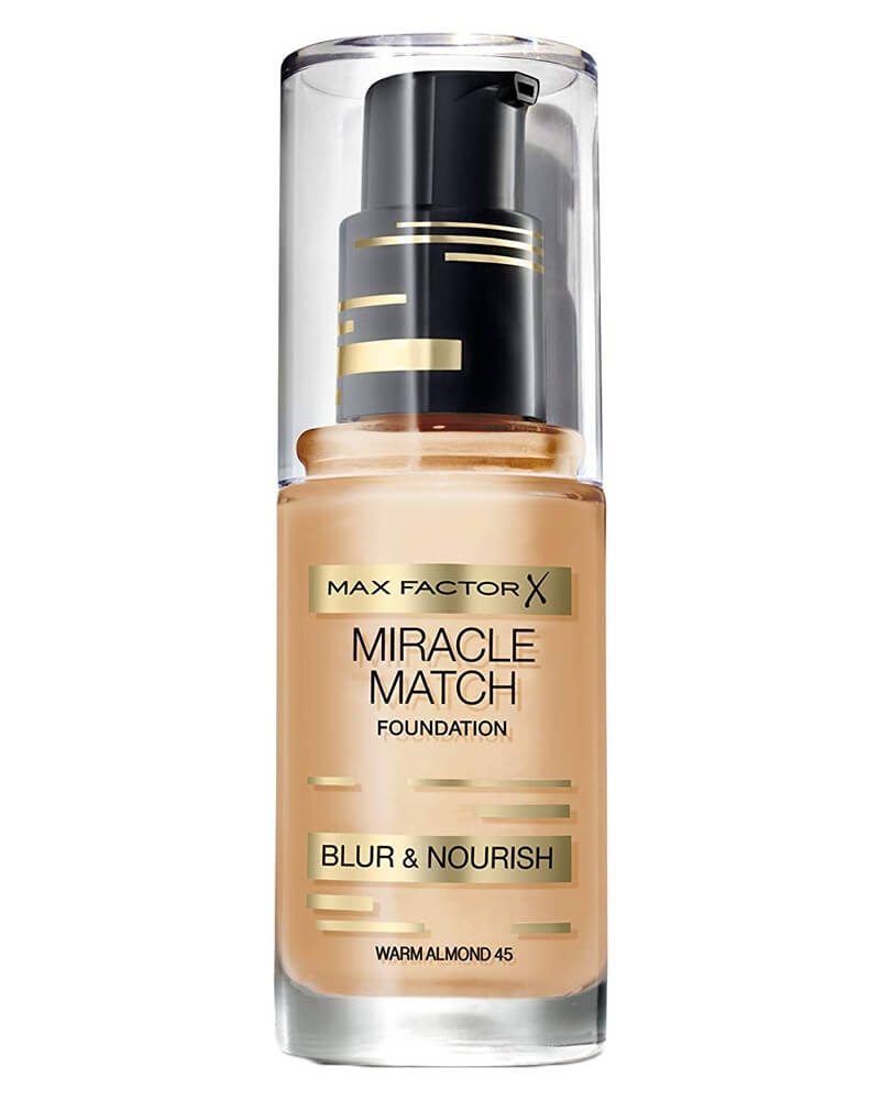 Max Factor Miracle Match Foundation Warm Almond 45 30 ml